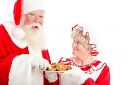 The image for MRS. CLAUS' BAKING CLASS: COOKIES FOR SANTA AGES 6 and OLDER