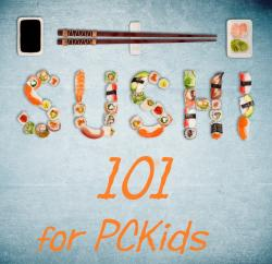 The image for PCKids 'TWEEN & TEEN CUISINE: SUSHI (AGES 10-teens)